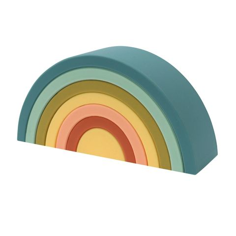 OB Designs Rainbow Stacker Blueberry