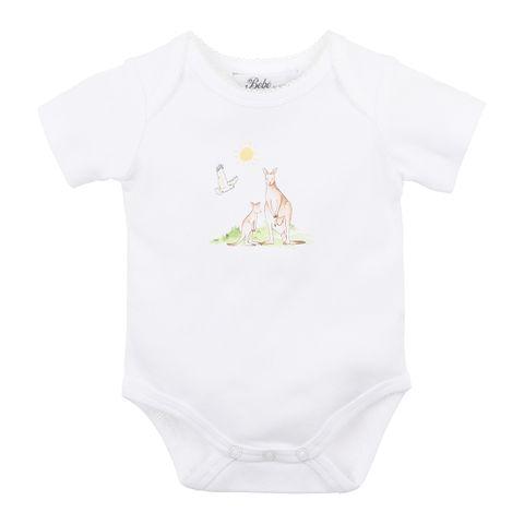 Bebe Jordan Kangaroo Bodysuit