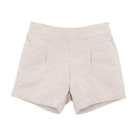 Bebe William Stone Linen Shorts