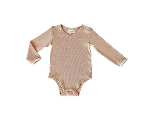 India & Grace LS Suit Hazelnut