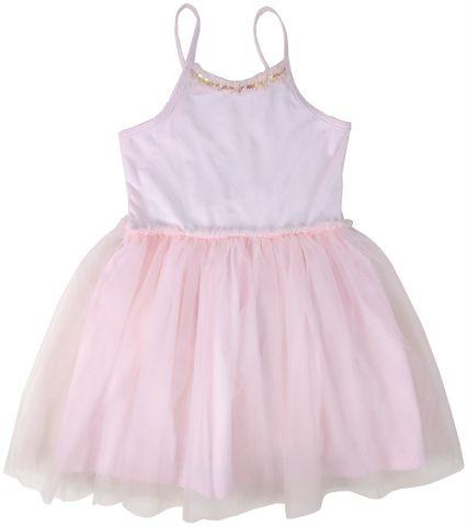 Albetta Pink Spaghetti Tutu Dress