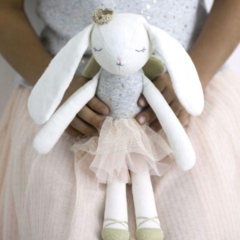 Albetta Cotton Velvet Bunny 35cm