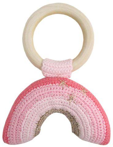 Albetta Rainbow Ring Rattle