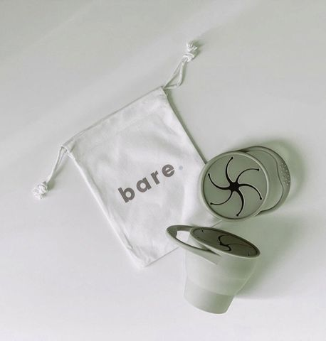 bare Silicone Snackie Cup Dusty Sage