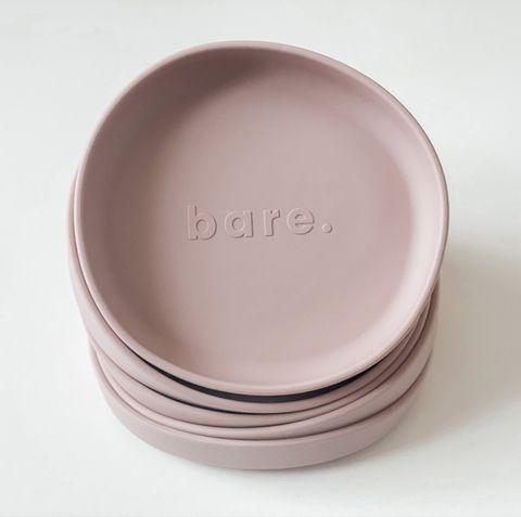 bare Irregular Suction Plate Blush