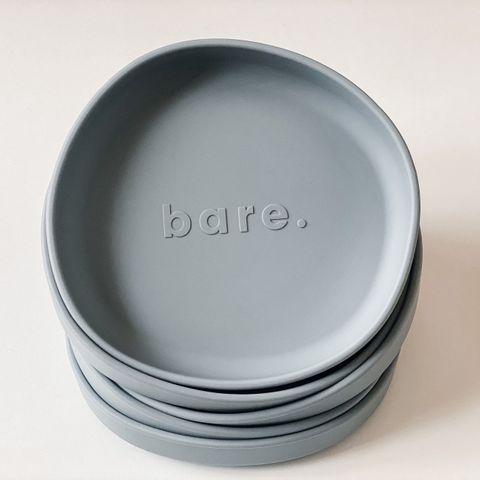 bare Irregular Suction Plate Slate