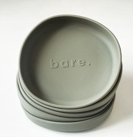bare Irregular Suction Plate Dusty Sage
