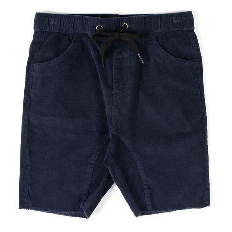 Alphabet Soup Cord Shorts