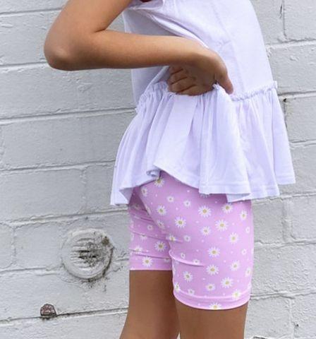 Little Hearts Daisy Bike Shorts
