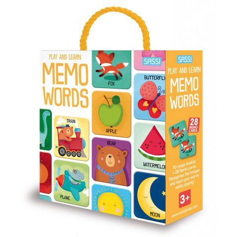 Pull and Learn Memo Words Book & Game