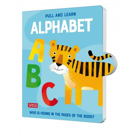 Pull and Learn Alphabet Book
