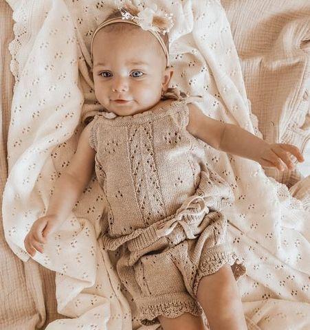 Little Bs Vintage Knit Oak