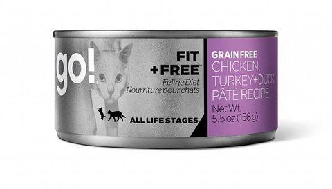 GO! Cat Wet Fit Chicken, Turkey & Duck 156g
