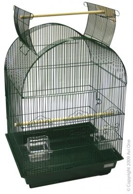 Avi One Bird Cage - 450 Arch Open Top 46x36x78cm