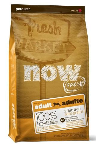 NOW Dog Adult Grain Free  5.44kg