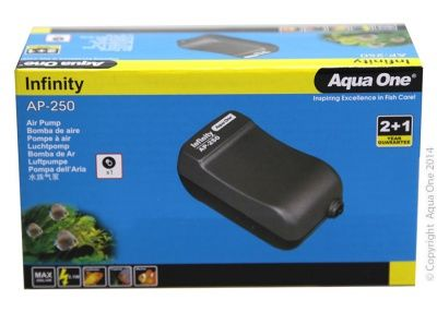 Aqua One Infinity Air Pump AP250