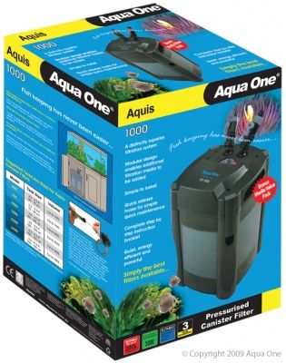 Aqua One Aquis Canister Filter 1000L/Hr