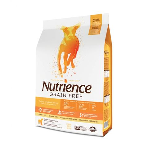 Nutrience Dog Grain Free Turkey, Chicken & Herring 5kg