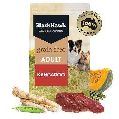 Black Hawk Dog Grain Free Kangaroo  7kg