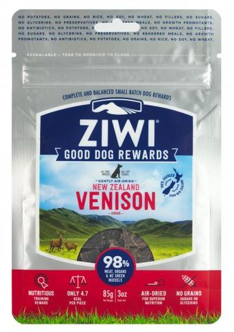 Ziwi Peak Dog Treats - Venison 85g