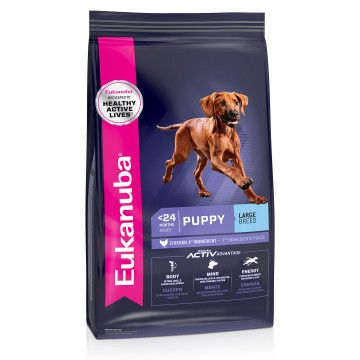 EUK Dog Puppy Large Breed 15kg