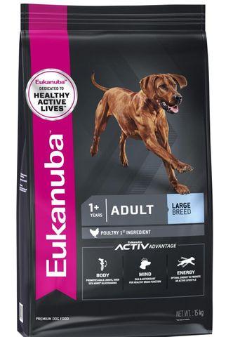 EUK Dog Adult Large Breed 15kg