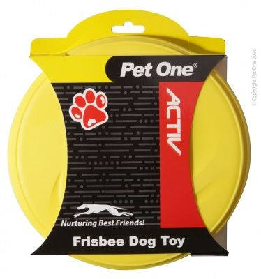 Pet One Active Toy Rubber Frisbee