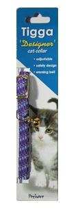 Tigga Mix Reflect Cat Collar Lavender