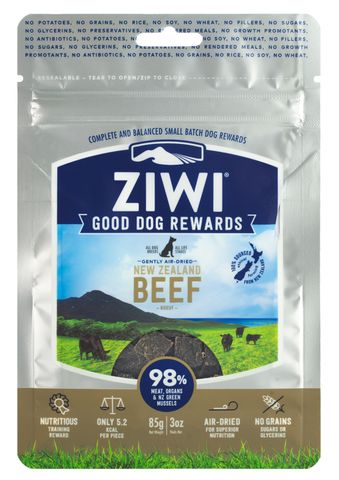 Ziwi Peak Dog Treats - Beef 85g