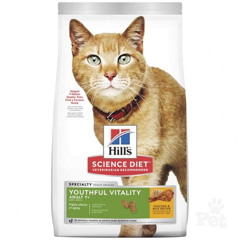 SD Cat Adult 7yrs+ Youthful Vitality 1.36kg
