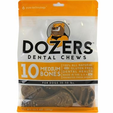 Dozers Toothbrush Treat Medium 10pk