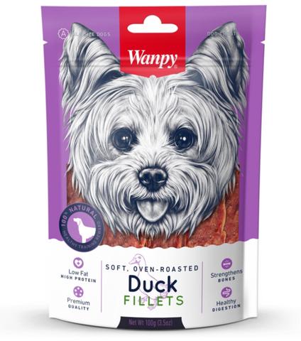 Wanpy Dog Duck Jerky 100g