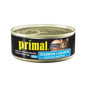 Primal Cat Can Ocean Fish & Salmon 100g