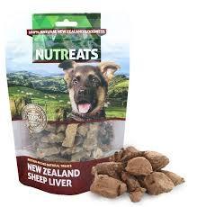 Nutreats Dog Sheep Liver 50g
