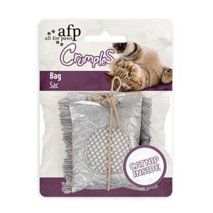AFP Crumples Square Bag Cat Toy
