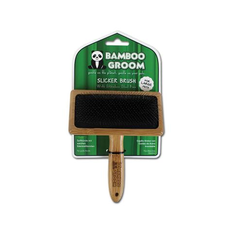 Bamboo Slicker Brush Large