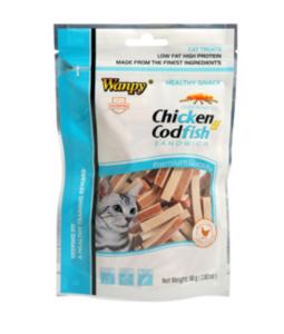 Wanpy Chicken & Codfish Cat Sandwich 80g