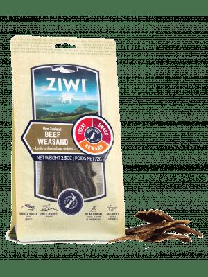 Ziwi Peak Dog Beef Weasand Chews 72g