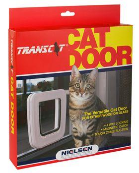 Transcat Cat Door - White