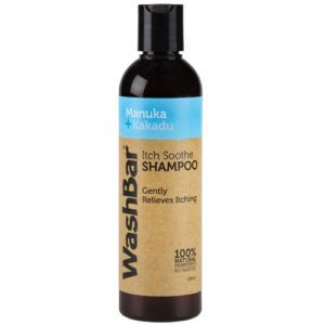 Wash Bar Itch Soothe Shampoo Manuka and Kakuda 250ml