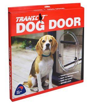 Transcat Small Dog Door - Clear