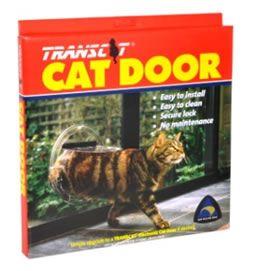 Transcat Cat Door  - Clear