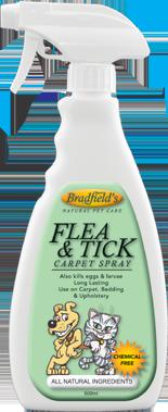 Bradfield's Flea & Tick Carpet Spray 500ml