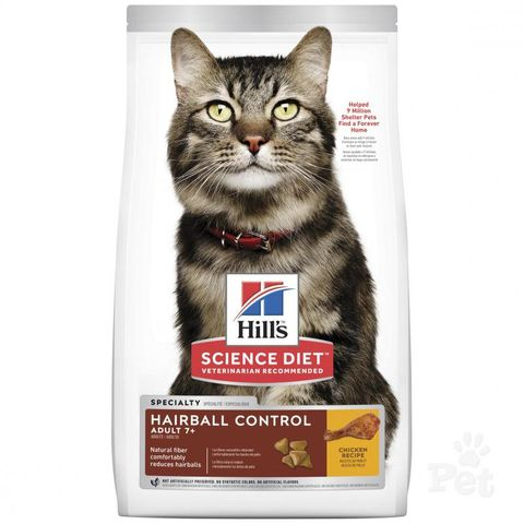 SD Cat Adult 7yrs+ Hairball Control 4kg