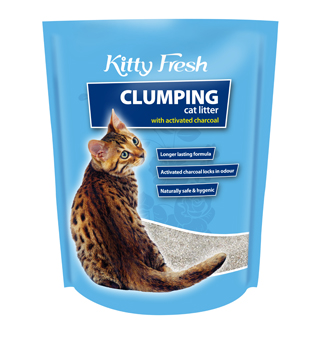 Kitty Fresh Litter Charcoal Clumping 5kg