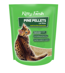 Kitty Fresh Litter Pine Pellets 10L