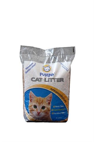 Pussy Do Litter Wood Pellets - 6ltr