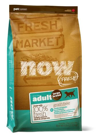 NOW Dog Adult Large Breed Grain Free 11.34kg