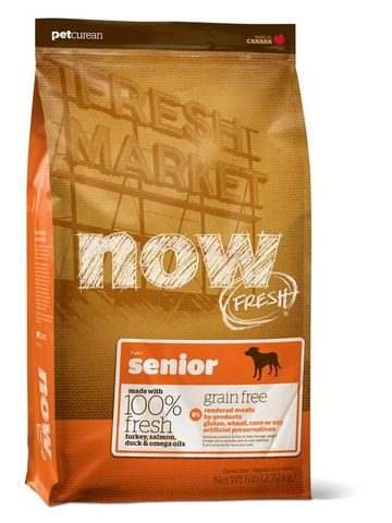 NOW Dog Senior Grain Free 11.34kg