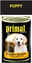 Primal Puppy Chicken, Salmon & Vege 390g